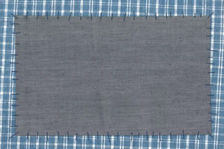 Background - cloth attached threads photo