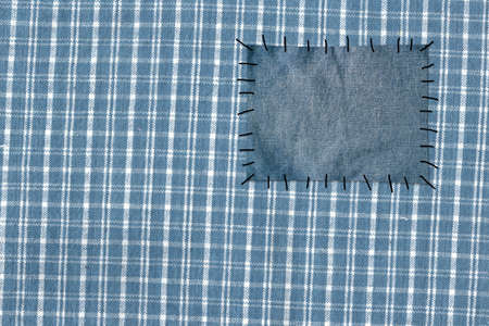 Background - cloth attached to jeans photo