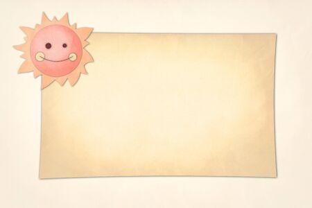 Sun paper Stock Photo - 13453979