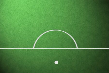 crossbars: soccer field with lines on grass