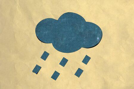 rain paper Stock Photo - 13515320