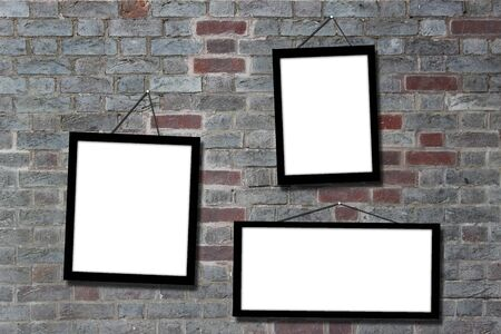 picture frame hang on wall photo