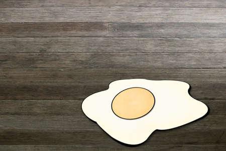Fried eggs photo