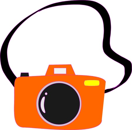 camera cartoon Vector