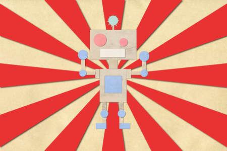 Robot paper photo