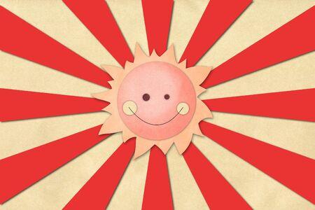 Sun paper Stock Photo - 13594427