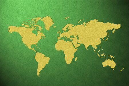world map Stock Photo - 19499366