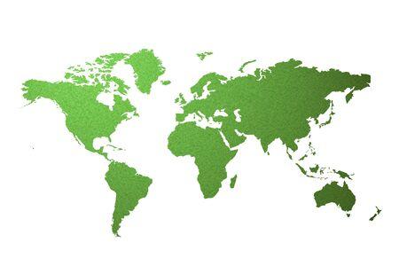 world map Stock Photo - 19499356