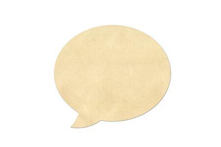 Paper speech bubbles photo