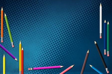 creative arts: PENCIL COLOR