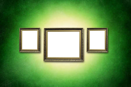 picture frame on wall to put your own pictures in  photo