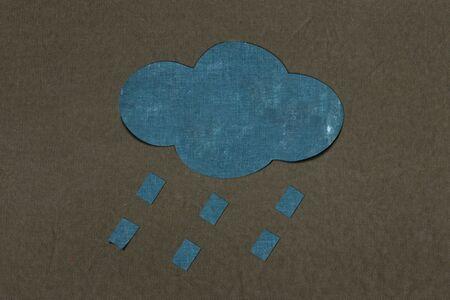 rain paper photo