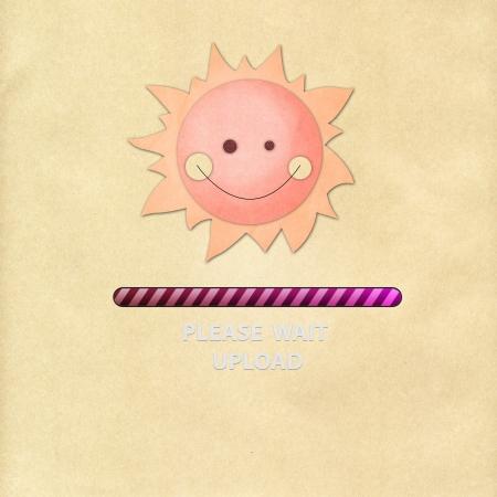 Sun paper upload photo