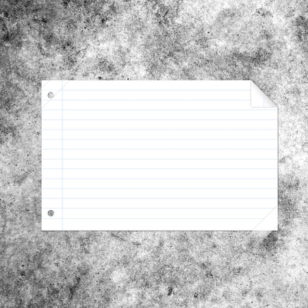 note paper taped on background Stock Photo - 15454750