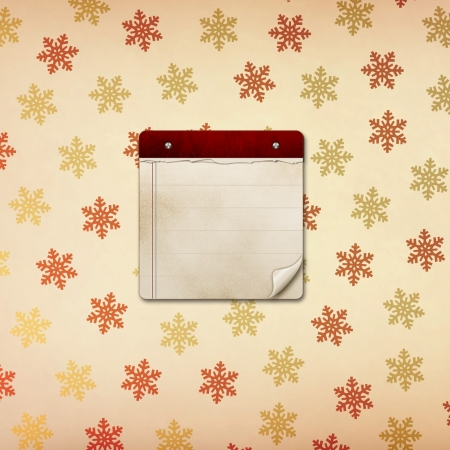 diary background: note Stock Photo