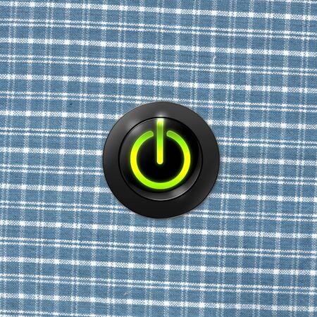 power button on Stock Photo - 16295859