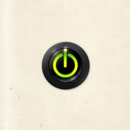 power button on photo