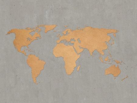 World Map Stock Photo - 16289712