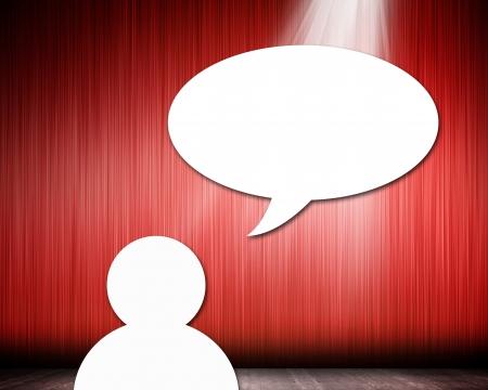 acronym: Dialog speech bubbles