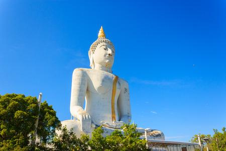 Big buddha statue, suphanburi province, Thailand