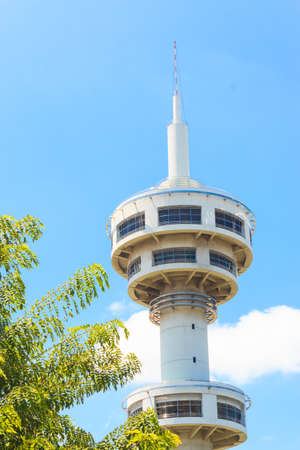 Banhan Chaemsai tower , SUPHANBURI, THAILAND