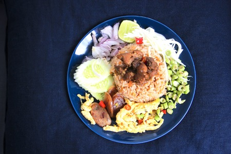 Rice Seasoned with Shrimp Paste Recipe