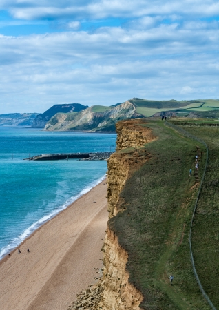 Jurassic coast dorset uk Stock Photo