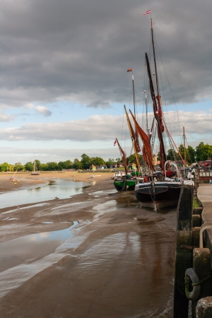 Thames barge maldon essex uk