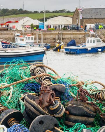 westbay harbour Stock Photo