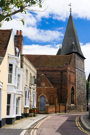 Essex street scene Maldon UK Stock Photo - 17955569