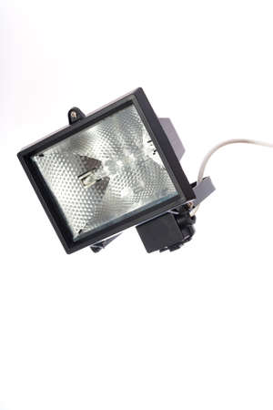 floodlight security lamp Stock Photo