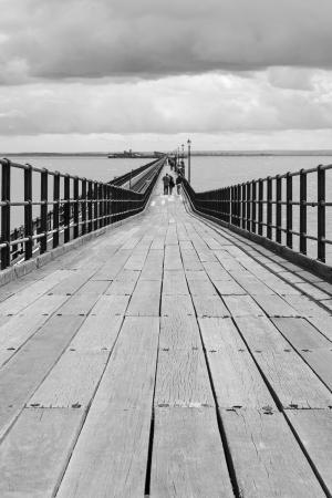 southend pier essex uk Stock Photo - 18687189
