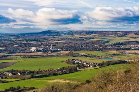english landscape countryside maidstone kent uk