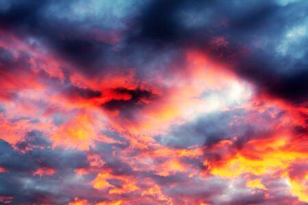 beautiful background cloudscape Stock Photo