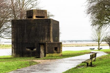 pillbox defence uk Stock Photo