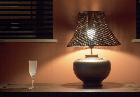 Table lamp home setting