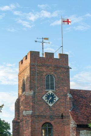 St Thomas Church Bradwell on sea Stock Photo