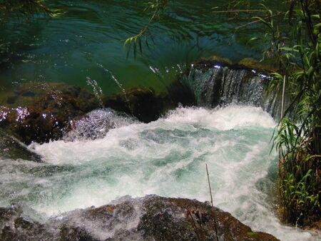 tiny: Tiny Waterfall Stock Photo