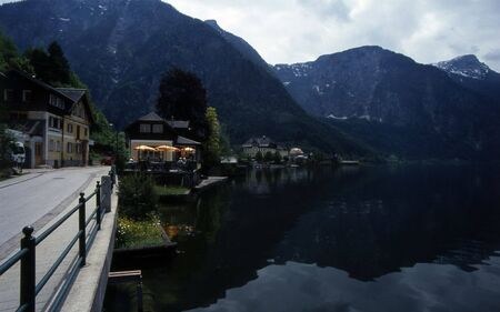 Village of Hallstatt, Austria