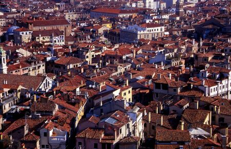 venice from above Stock Photo