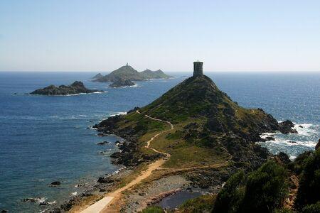 Ajaccio si trova sulla costa occidentale dell'isola di Corsica