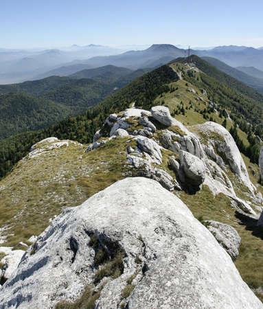Croatian mountain landscape Lika Pljesivica photo