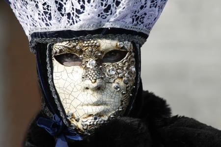 Wenecja, karnawał wenecki, oryginalne weneckie maski Zdjęcie Seryjne - 13775919