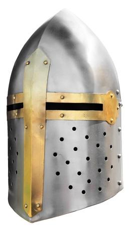 cross armed: Medieval knight