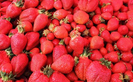 Natural strawberry sweet and healthy fruit spring Stock Photo - 13972593