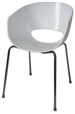 Modern Plastic Chairs For Offices And Waiting Rooms Stock Photo   13991496