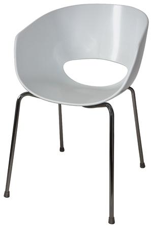 Modernas sillas de plástico para oficinas y salas de espera Foto de archivo - 13991496