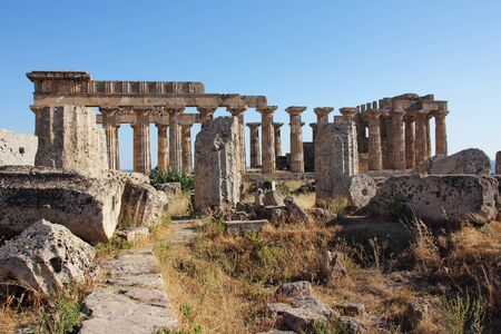 solidify: The largest Greek temple in Selinus, Sicily