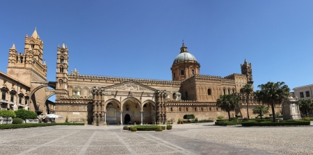 The magnificent old Cathedral of Palermo, Sicily