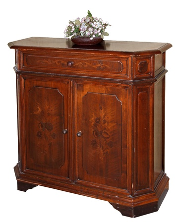 Hand crafted classic wooden dresser